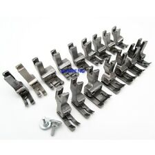 INDUSTRIAL SEW MACHINE 16 METAL COMPENSATING FOOT SET