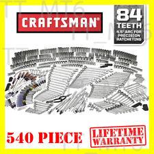 Craftsman 540-piece Mechanics Tool Set w/ 84T Ratchet Ratcheting Wrench 500 311