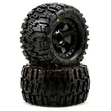Pro-Line Nylon Trencher 2.8 Inch Tires w/Desperado Nitro Rear Wheels #1170-12