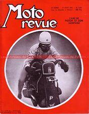 MOTO REVUE 1252 DUCATI 98 ; TRIUMPH T110 ; BMW R68 ; BMW des records 1935 1955