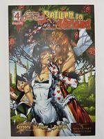 Zenescope Grimm Fairy Tales Return To Wonderland 4 Comic Book VF