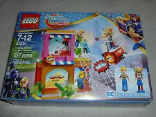 New Lego Dc Super Hero Girls 41231 Harley Quinn To The Rescue Steve Trevor Nib >
