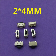 50pcs/lot SMT 2 PIN Tactile Tact Push Button Micro Switch G72 Self-reset