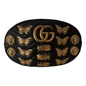 Gucci  Marmont Matelasse Animal Stud Belt Bag