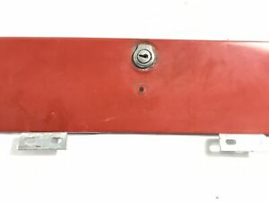Jeep Jeepster Glove Box Door with Latch and Hinge Commando Kaiser 1966-1973