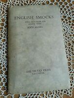 English Smocks with Directions for Making them Alice Armes Antique Pattern Dress