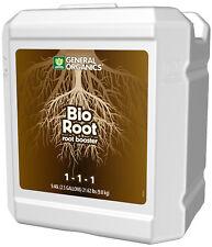 General Organics BioRoot 2.5 Gallon - bio root gh organic vitamin stem gal