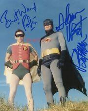 "Batman & Robin Adam West Burt Ward reprint signed 8x10"" Photo #5 Autographed RP"