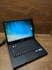 Samsung NP-R60Y Black Celeron Windows Vista Laptop Used