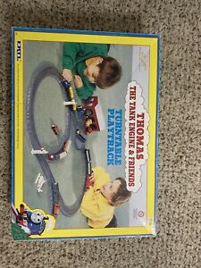 THOMAS THE TANK ENGINE & FRIENDS Turntable playtrack vintage 1996 Incomplete
