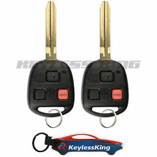 2 Replacement for 1998-2002 Toyota Land Cruiser Key Fob Keyless Entry Car Remote