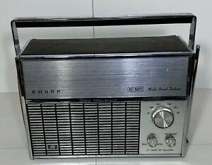 Vintage SHARP Multi Band Deluxe Radio Model FV-1710