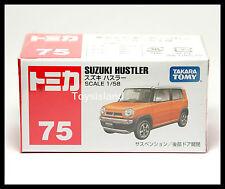 TOMICA #75 SUZUKI HUSTLER 1/58 TOMY ORANGE 2014 OCT NEW MODEL DIECAST CAR