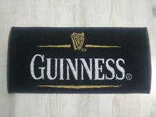 Guiness Beer Bar Towel Rag Cloth Black and Gold
