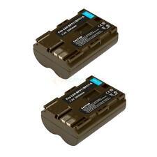 2 Pack Battery for Canon G1 G3 G5 G6 ZR50 ZR70 MC MV300 MV400i BP-511A BP-511