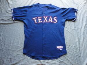 Hank Blalock Texas Rangers 2008 Game Used Majestic Jersey