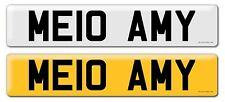 Personalised registration Private number plate MELLO AMY Lexus BMW Audi Bentley