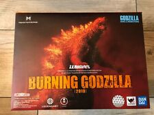 Bandai S.H. Monster Arts 2019 Burning Godzilla Figure box opened