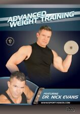 Advanced Weight Training featuring Dr. Nick Evans (New DVD) Free Shipping