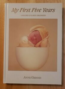 Anne Geddes' MY FIRST FIVE YEARS Bunny Baby Journal Book