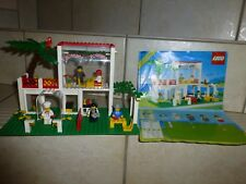 SUPERBE SET LEGO 6376 AVEC NOTICE D' ORIGINE : LA PIZZERIA + 5 PERSONNAGES