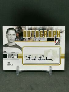 2009-10 ITG Heroes and Prospects Autographs #ATL Ted Lindsay