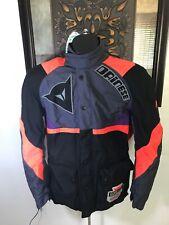 Dainese Jacket BLK Orange Purple  SZ 50 Gortex Corduroy By DuPont
