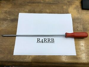 """MAC Tools USA RARE RED Handle 12"""" Blade No.2 XL Phillips Screwdriver P3122AR"""