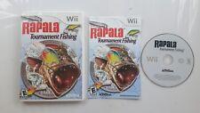 RAPALA TOURNAMENT FISHING NINTENDO WII GAME NTSC US/CANADA VERSION 1