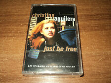 CHRISTINA AGUILERA - Just Be Free (new cassette)