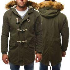 Cappotti e giacche da uomo stile parka con cerniera