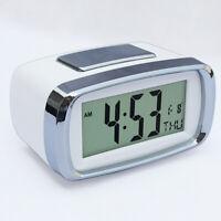 Calendario della sveglia con retroilluminazione a LED digitale a batteria