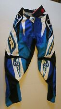 MSR Axxis Pants Blue and white Size 28 Offroad Motocross BMX