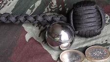 "Monkey'S Fist ø28mm Bille Acier STEEL BALL ""Self Defense""Survie"""