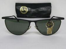 Vintage B&L Ray Ban Senova Alita Matte Black G-15 XLT Tea Cup W1764 Sunglasses