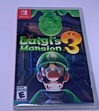Luigi's Mansion 3 -- (Nintendo Switch, 2019) - BRAND NEW SEALED Canada Post