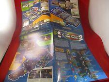 Tony Hawk's Pro Skater 2 Mini Strategy Guide Map Supplement Foldable