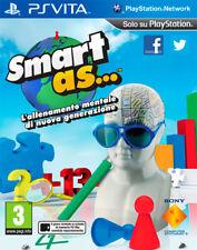 Smart As... Allenamento Mentale Di Nuova Generazione SONY PS VITA 9205357
