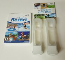 nintendo wii game lot wii sports resort and wii sports both complete