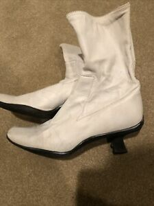 PRADA ladies size 10 leather boots  $350 Retail