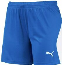 Electric Blue  Lemonade/white Puma Women's Liga Shorts
