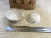 COORS USA 430-00-A Porcelain Evaporating Dish ~1oz ~29.5ml Set of 48