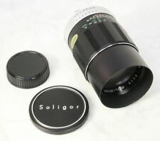 Vintage SOLIGOR Manual Prime Telephoto Lens. 135mm f2.8 for Minolta SR Mount