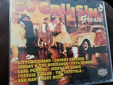 50 Cruisin Greats CD Album Rock N Roll Driving Songs