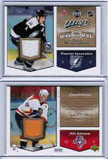 07/08 UD MVP LECAVALIER OLLI JOKINEN ONE ON ONE DUAL JERSEY LIGHTNING PANTHERS