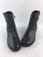 19e7beadb3b Stuart Weitzman Download Black Nappa Ankle Boots Size 8.5M D27