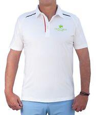 Neu !!! Herren Golf Poloshirt von Triple Eagle Golfing. Weiß. Kurtzarm. Leicht.