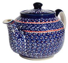 Polish Pottery Teapot from Zaklady Ceramiczne Boleslawiec gu596/1126a