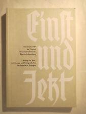 Einst und Jetzt - 1985 - Sonderheft - Robert Paschke - Corps / Studentika