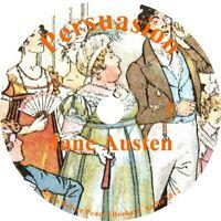 Persuasion, Jane Austen Audiobook English Unabridged Fiction on 7 Audio CDs